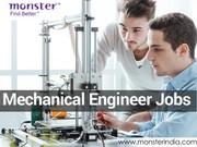 Mechanical Engineer Jobs