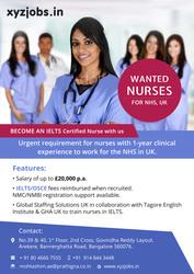 Nursing Jobs in UK NHS
