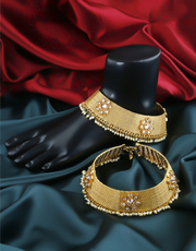Get fancy Latest Payal Design at Best Price by Anuradha Art Jewellery.