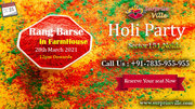 holi party ticket