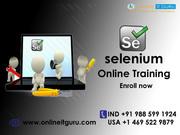 Selenium online training Hyderabad