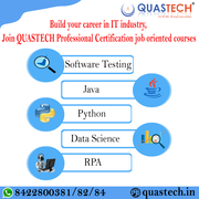 Software Testing,  Python,  Data Science,  course in Kandivali  QUASTECH