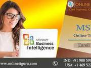 Msbi Online Training India  OnlineITGuru