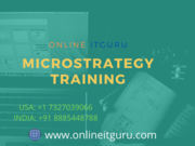 micro strategy certification training   OnlineITGuru